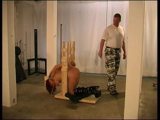Porn online Hard Caning Lesson for sweet Melanie