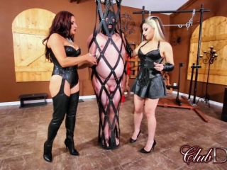 ClubDom – Michelle Lacy, Isobel Cage – Michelle and Isobel CBT Slave