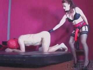 Strapon – Femme Fatale Films – Big Red – Mistress Lady Renee
