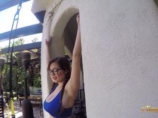 Online Tube TessaFowler presents Tessa Fowler in Outdoor Workout GoPro 1 - milf