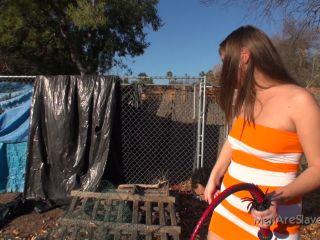 Outdoor – Men Are Slaves – This Is Why You Need Training – Princess Ashlee