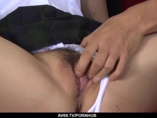 Perfect miku airi hardcore sex scenes with two tea