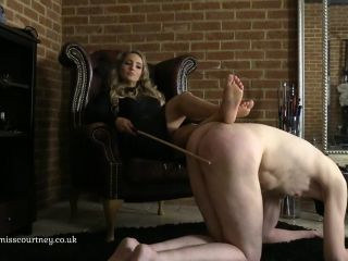 Mistress Courtney – A Lazy Caning (1080 HD) – Corporal Punishment – Female Domination, Femdom