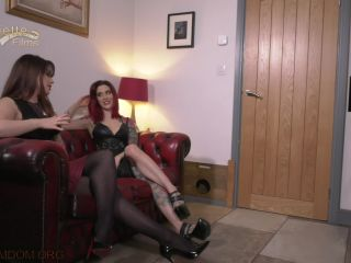 Double Domination – OublietteClip Store – Ready Steady Suck – Mistress Sarena and Mistress Adreena