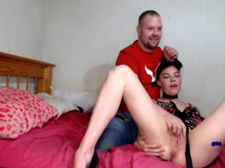 Young girl, amateur BDSM, male domination