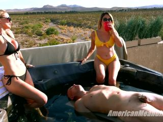 Footdom – THE MEAN GIRLS – Waterboarded by the Mean Girls – Princess Skylar and Goddess Platinum