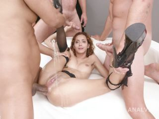 Veronica Leal again DP to rosebutt and big gape
