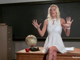 The Training of a Big Tit, Bleach Blonde Porn Star, Day One (June 28, 2013)