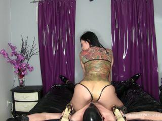 Vancouver Kinky Dominatrix – Latex Bondage And Smother (1080 HD) – Face Sit, Femdom - bondage male - fetish porn big dick tits ass