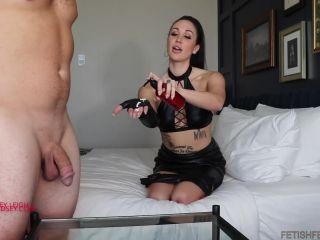 Lindsey Leigh Addiction – Leather Glove HJ CEI  Handjob  Male Orgasm  Ejaculation  Sperm  Cumshot  Milking  k2s.cc  femdom online