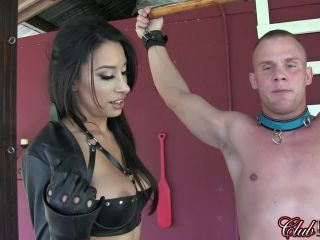 Black latex gloves smother