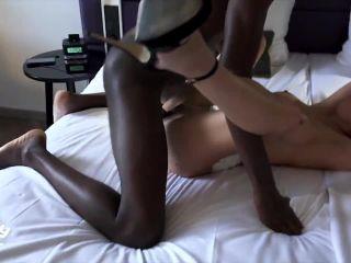 lillylil - Mein schwarzer Hengst ballert die mega Sperma Ladung raus