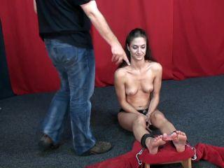 Tickle Challenge - Autumn - Foot Tickle Challenge.flv