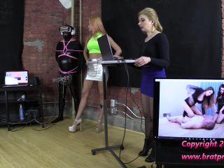 Porn online Milking Machines – Brat Princess 2 – Amadahy and Lola – Demonstrate Reprogramming at the Edging Salon