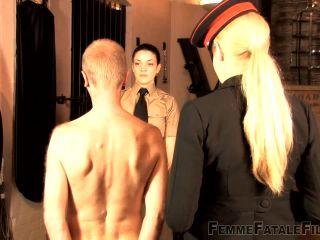 Whipped – Femme Fatale Films – Prisoner Cell Block Hunter – The Hunteress