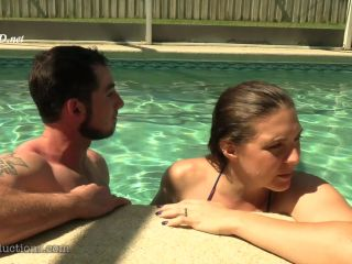 Secretive Underwater Cock Stroking _ Ass Grabbing With Sadie Holmes _ Toby Springs
