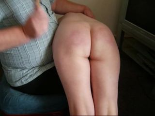 Spanking Red AssStrictly Spanking Girl, Red Ass - Spanking with a brush