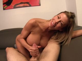 Alexis Fawx in Mom milks my cock before my date