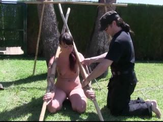 Extreme humiliation of women (BDSM, bondage)