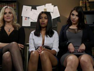 whipped ass: february 28, 2019 – julia ann, jenna foxx, ivy lebelle/smack her ass: new hire ivy lebelle submits to jenna foxx & julia ann