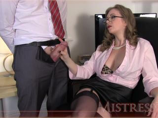 Glasses – Mistress – T – Fetish Fuckery – Testing New Office Fuck Toy