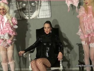 DirtyTransDolls – Fetish Liza – Sissy slave auction Part 1