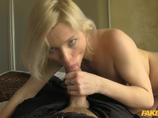 Blonde Takes a Facial from Cop
