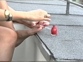 barbara - V01 Trying Exclusive Shoes [foot fetish]