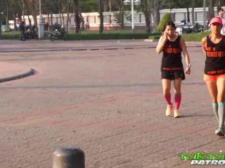 Hardcore bangkok teen gets her super hairy sy creampied