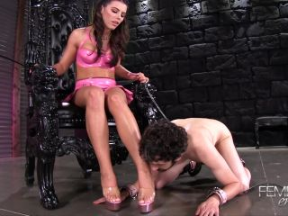 FemdomEmpire - Princess Adriana - Ruled by feet | online | porn video