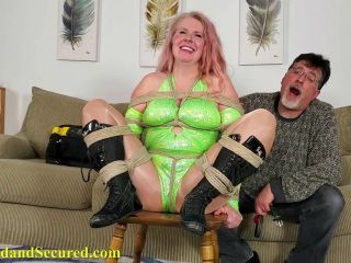 Porn online Swallowing/drooling – Cinched and Secured – Sybil Starr Subdued