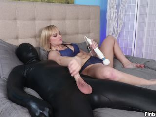 FinishHim presents Kate Englands Epic Femdom Cumshot