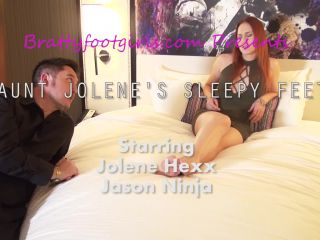Taboo – Bratty Foot Girls – Aunt Jolene's Creepy Foot Obsessed Nephew