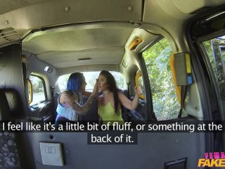 Sexy Lesbian Fun in British Taxi - October 27, 2016