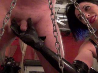 DomNation  PUNISHING HER SLAVE'S SICK PENIS  Starring Mistress January Seraph
