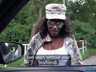 Jai James – Ebony G I  Fucks big white cock (Full HD)