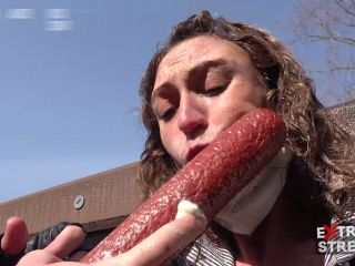Fucked with Salami - Extreme Streets 2 part 5 NEW!!! [UltraHD/4K 2160P] - Screenshot 1