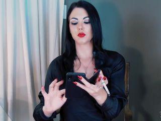 femdom - Young Goddess Kim in Humiliated Boss bitch (Premium user request)