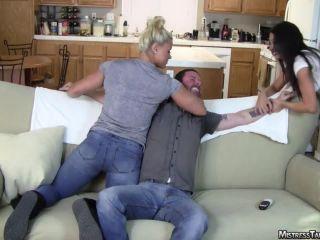 Mistress Tangent  Punch. Starring Mistress Tangent and Sydney Thunder
