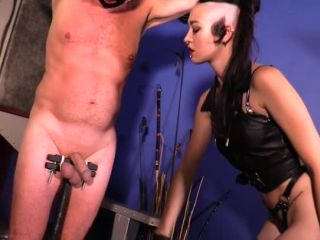 Gloves – Cybill Troy FemDom Anti-Sex League – CBT Pillory Starring Mistress Luzia Lowe