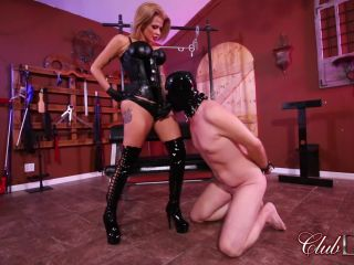 [Femdom 2018] ClubDom  Strap-on Fucked by Joslyn [Anal, Anus, Ass, Pegging, Strap-On, Strap on]