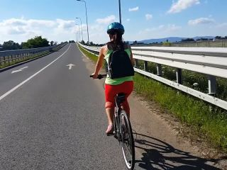 Anal Surprise During Hot Cycling