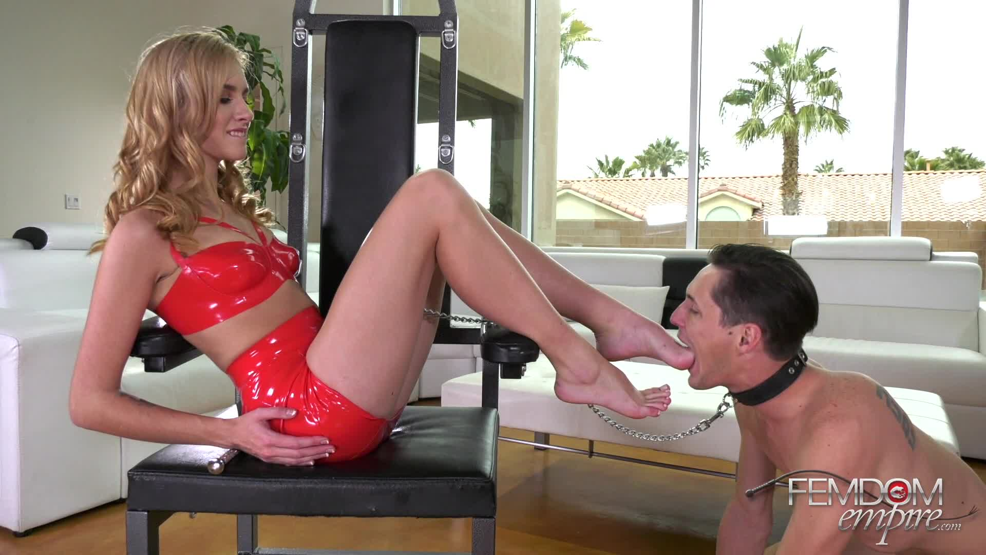 Two Mistress Foot Slave