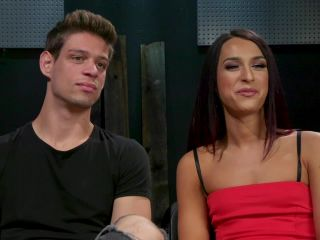 fur fetish False Imprisonment Khloe Kay Captive and Captivated by Michael DelRay, role play on tattoo