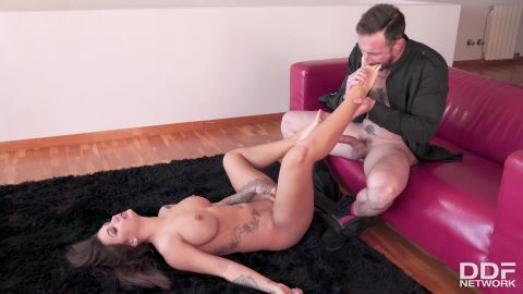 Susy Gala - From Footjob To Blowjob (1080p)