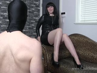 [Femdom 2018] Club Stiletto FemDom  My Big Ass And Your Little Dick. Starring Princess Lily [Farting, Ass Smelling, Ass Sniffing, Ass Fetish]