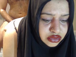 CRYING ANAL ! CHEATING HIJAB WIFE FUCKED IN THE ASS !