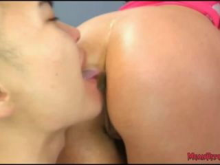 Ariella Ferrera dominates slave Eric in the Gym