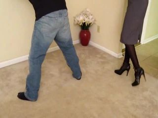 All In a Hard Days Work Part 2 Saint Marcs Ballbusting in Heels