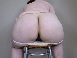 margo - Fat Girl White Panty Poop [FullHD 1080P] - Screenshot 2